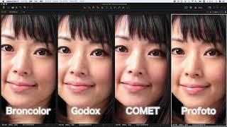 Godox DE300 COMET SYNCHRON 04 Profoto B1 Air broncolor siros 800 S ...