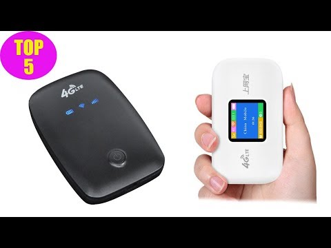 Top 5 Best 4G Portable Wifi Router 2020