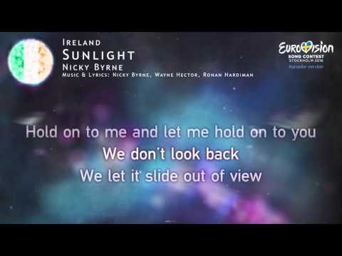 Nicky Byrne - Sunlight (Ireland) - [Karaoke version]