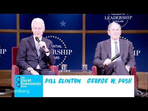 The David Rubenstein Show: Clinton and Bush