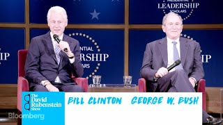 The David Rubenstein Show: Clinton and Bush