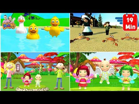 เพลงเป็ด รวมเพลงเด็กฟัง ก้าบ ก้าบ ก้าบ -  Thai Duck Song by KidsMeSong