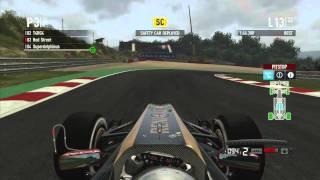 Codemasters F1 2011 - Spa Francorchamps -  Grand Prix 50%