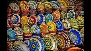 Узбекские казаны из Намангана.Посуда Риштан и Пахта Гул.Пчаки из Чуста.Рис Девзира и Лазер.