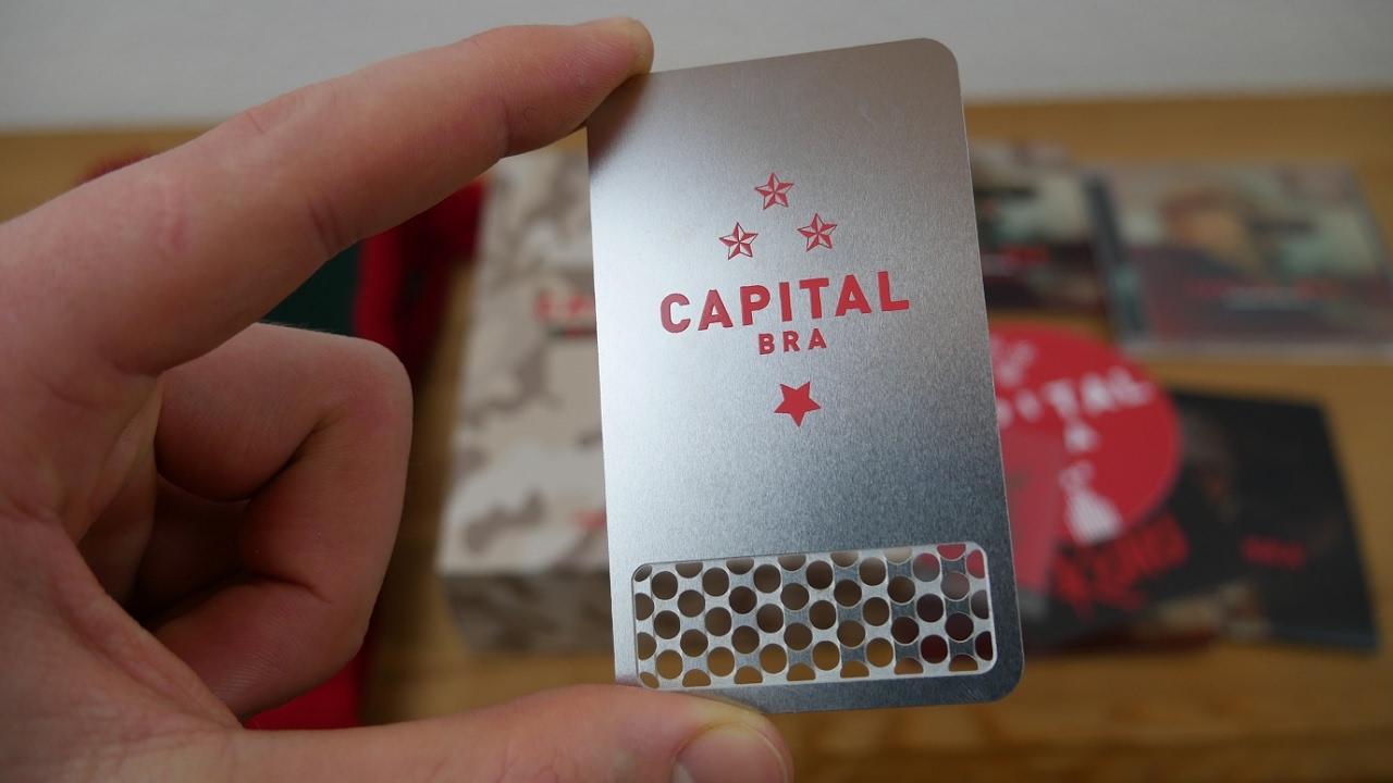 Capital Bra Makarov Komplex Limited Box Edition Unboxing Youtube