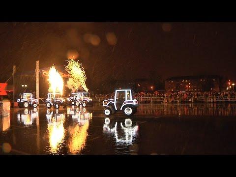 Уникальное шоу танцующих тракторов от МТЗ
