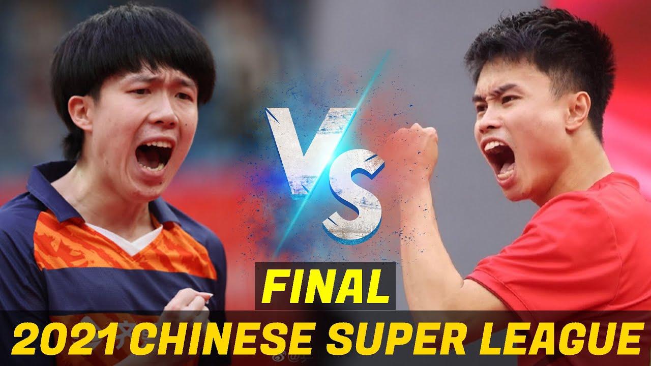 Download Wang Chuqin vs Zhou Qihao | 2021 Chinese Super League (Final)