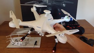 Lian Sheng LS-128 Sky Hunter Review and Flight