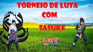 NARUTO ONLINE: Usando Sasuke Susanoo no torneio de luta!