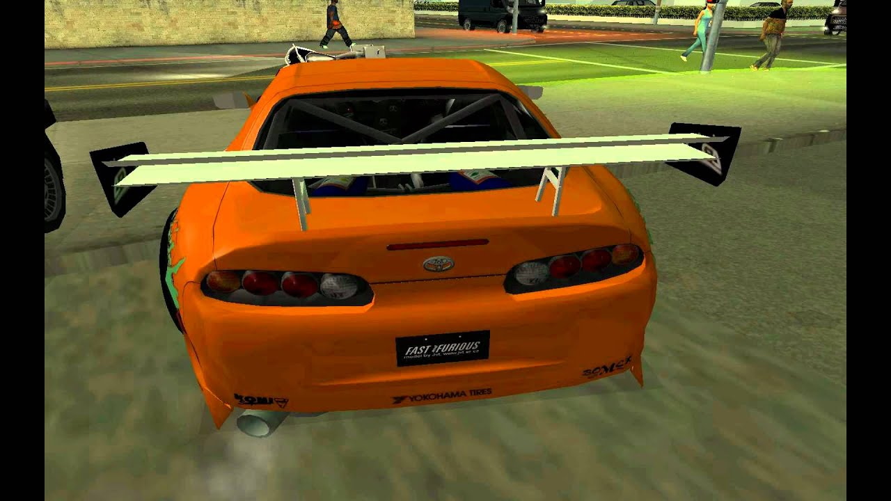 GTA San Andreas Fast and Furious car mods - YouTube