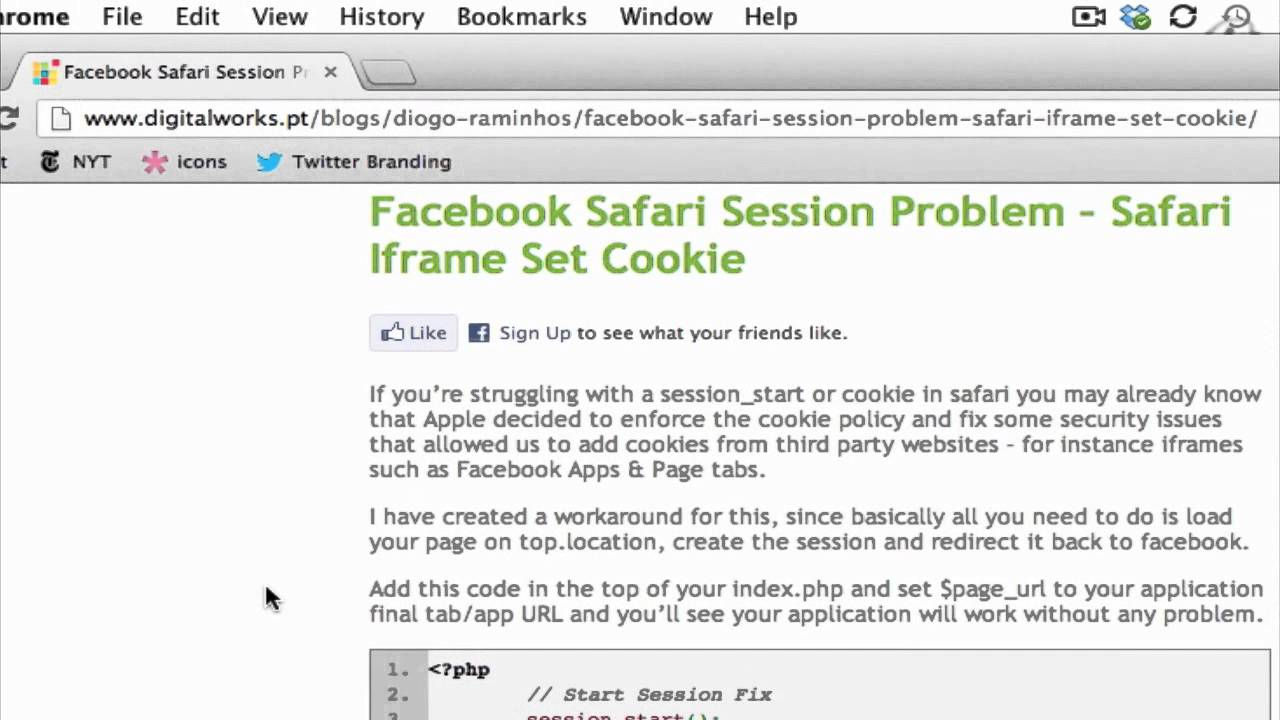 How to Make iFrames Work in Safari : Tumblr & Other Social Media