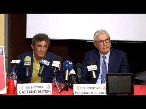 Catanzaro Calcio 3/3: presentato il nuovo tecnico Auteri