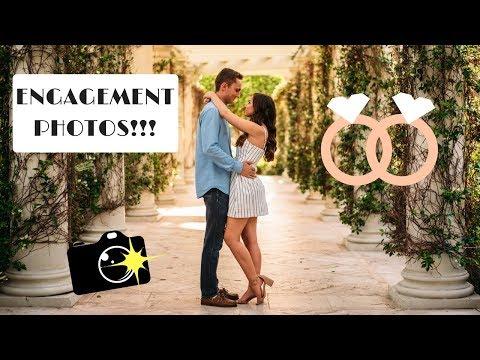 Engagement Photoshoot! (Part 1) | Wedding Series Vlog #2