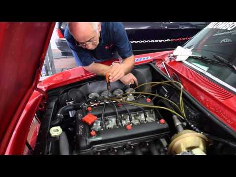 Alfa Romeo Giulia Gt 1600. Preparazione motore del mito Alfa Romeo e test finale con additivi Blue