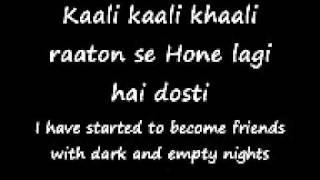 tujhe bhula diya english translation anjaana anjaaniwmv