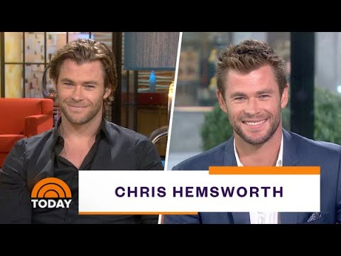 'avengers'-star-chris-hemsworth's-talks-being-thor-&-more-|-on-today