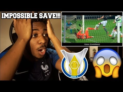THE MOST EPIC AND LEGENDARY SAVES OF THE BRASILEIRÃO 2018  Reaction