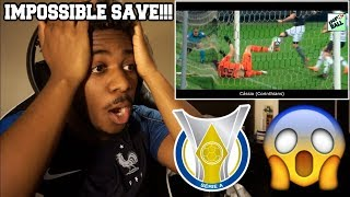 THE MOST EPIC AND LEGENDARY SAVES OF THE BRASILEIRÃO 2018 | Reaction