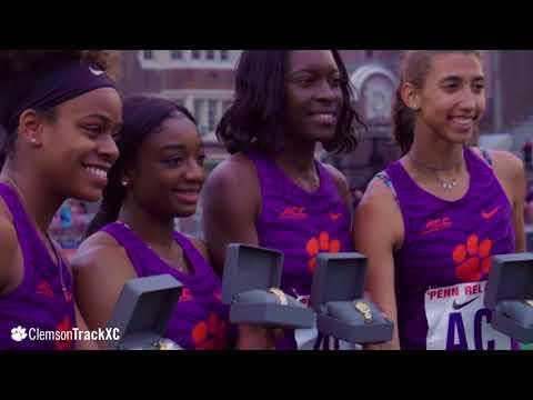 Clemson Track & Field || Penn Relays Women's SMR Championship: April 27, 2018