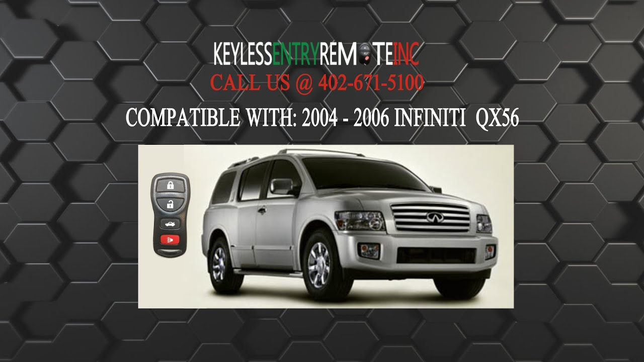 How To Replace Infiniti Qx56 Key Fob Battery 2004 2006