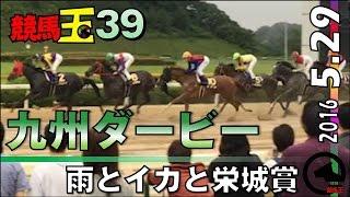 九州のダービー、雨の栄城賞【競馬玉39】2016.5.29佐賀11R