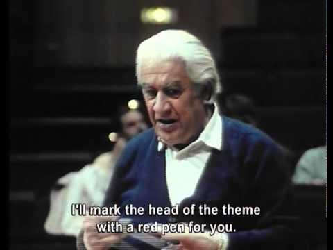 Sergiu Celibidache You Don't Do Anything, You Let it Evolve Part 4 (Eng Subt)