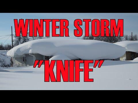 """Winter Storm """"Knife"""" - Buffalo NY, Lake Effect Snow Experience"""