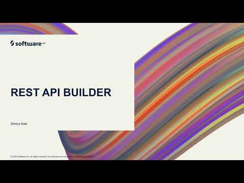 webMethods.io Integration Tutorials - REST API Builder