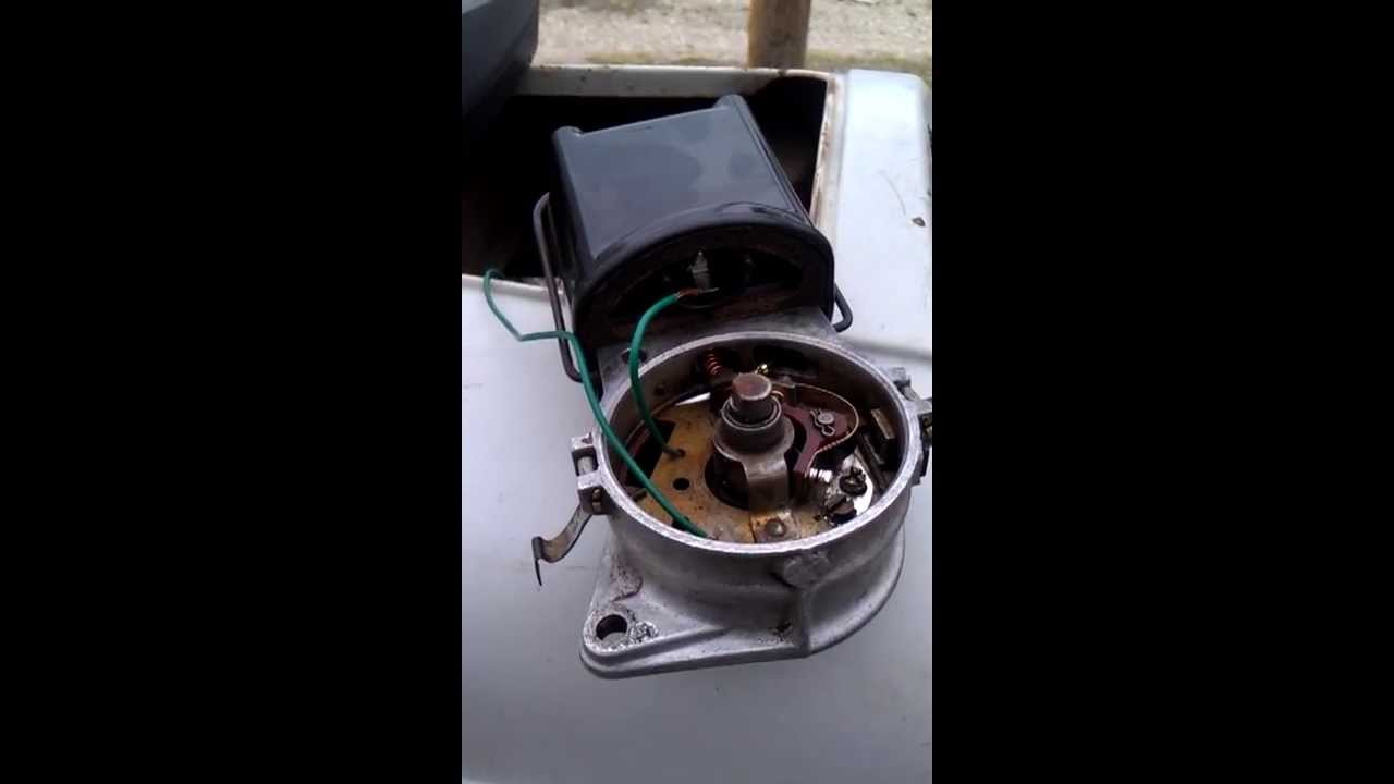 Ford 8n Ignition Wiring Diagram 7 Pin Wire Testing Coil Front Distributor - Youtube