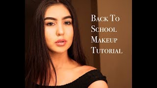 Back To School Makeup Tutorial 2017! - High School