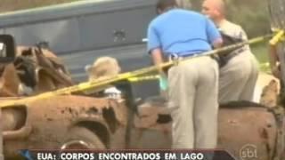 Repeat youtube video Depois de 40 anos, polícia encontra seis corpos em um lago em Oklahoma, nos Estados Unidos