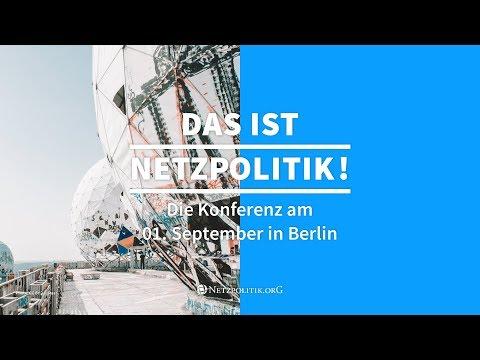"""#13np: Raum 1 - Live-Stream der Konferenz """"Das ist Netzpolitik!"""" (2017)"""