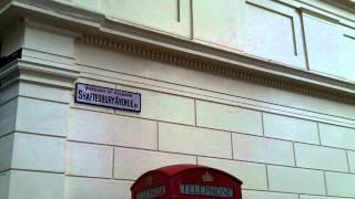 BT Telephone Box, Bloomsbury, London.