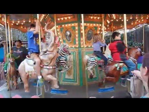 Part 1 - Kids Magical Merry-Go-Round Ride on the Seaport Carousel