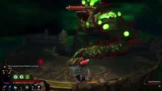 Diablo III: Belial boss fight all phases (PS4) (spoilers)
