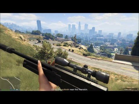 GTA ONLINE PC - Prison Break Wet Work Setup Mission