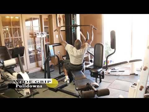 Dr Gene James- Vectra C-1 home gym exercise demo