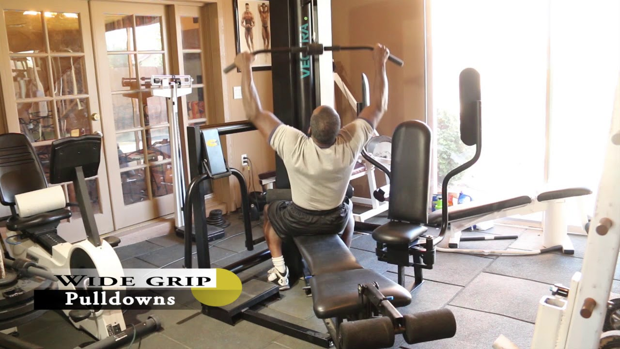 Dr gene james vectra c home gym exercise demo youtube