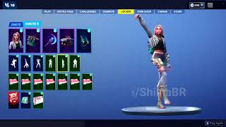Fuite Fortnite Emotes! (Lock it up, Buckets, Flex on Em)
