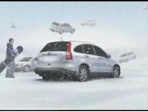 Honda CR-V snow