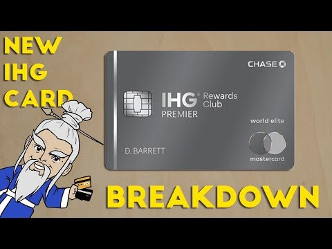 New IHG Premier Card FULL BREAKDOWN of Benefits