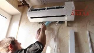Установка кондиционера от компании Абада.(Любой монтаж или установка кондиционеров должны проводиться квалифицированными специалистами, для правил..., 2012-02-10T07:44:57.000Z)