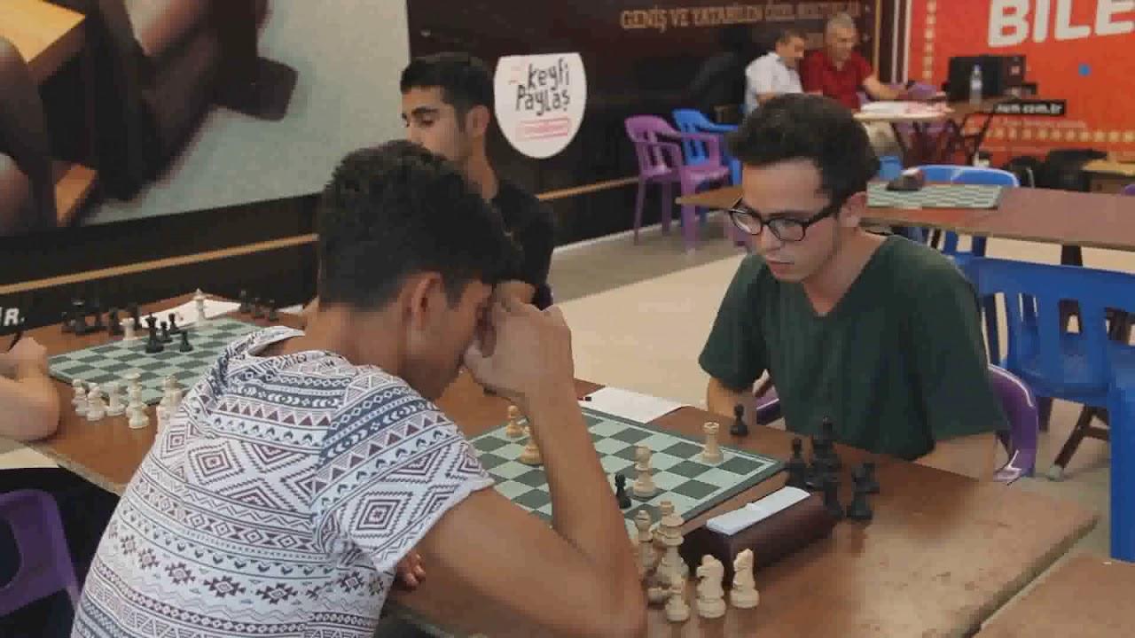 Adıyaman Park AVM'de Satranç Turnuvası