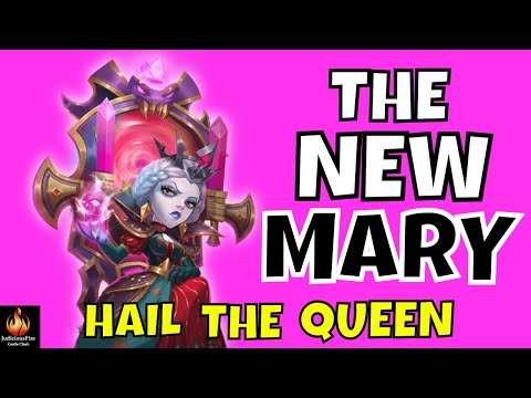 Bloody Mary Castle Clash Best Heroes NEW MAX Build