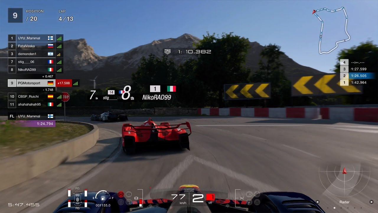 Gran Turismo™SPORT Daily Race 964 Sardegna Red Bull X2019 Competition Onboard