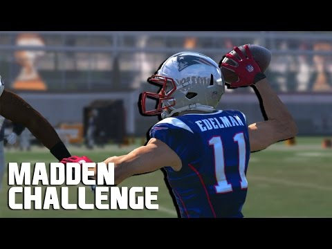 Can I Recreate Julian Edelmans Touchdown Pass? - Madden NFL Challenge