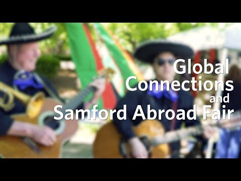 GLOBAL CONNECTIONS AND SAMFORD ABROAD FAIR