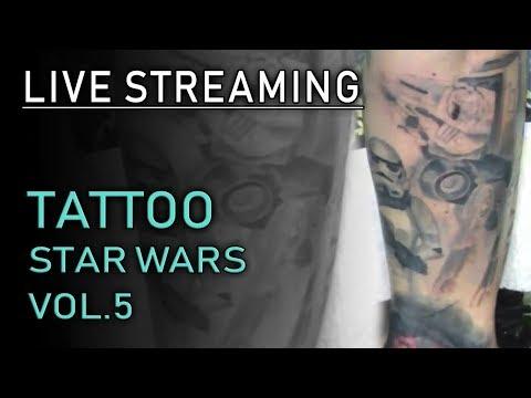 Tatuaggio Star Wars Live Streaming Vol.5
