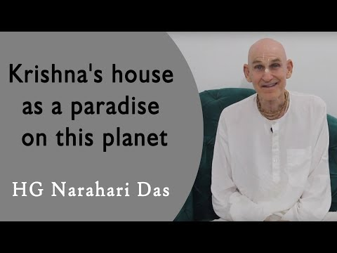 Krishna's house as a paradise on this planet | Narahari Das | Hawaii