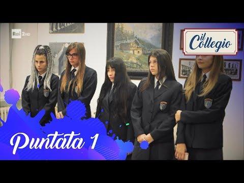 Nicole, Jennifer, Alice, Giulia e Beatrice dal Preside - Prima puntata - Il Collegio 3